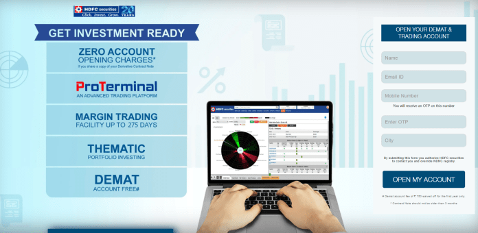How to Demat Account with HDFC Image