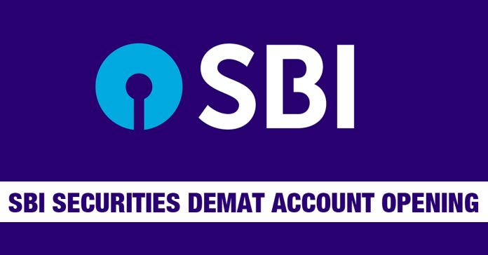 SBI Securities Demat Account Opening