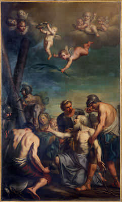 The Apostle Andrew Martyred