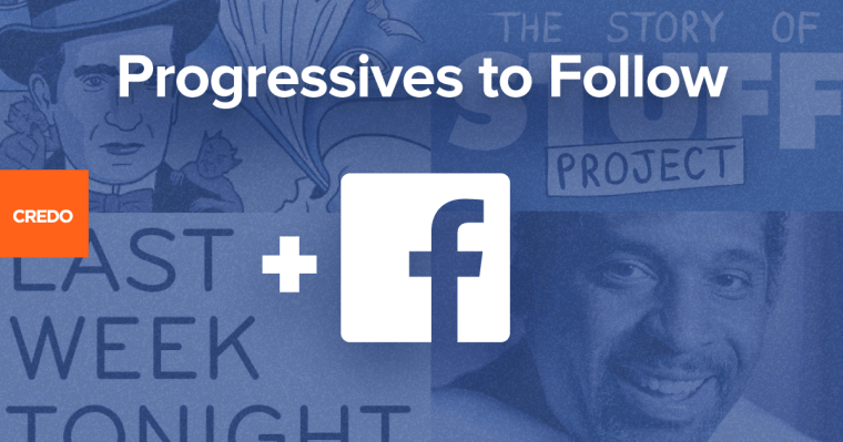 CREDO recommends facebook pages to follow