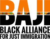 Black Alliance for Just Immigration log