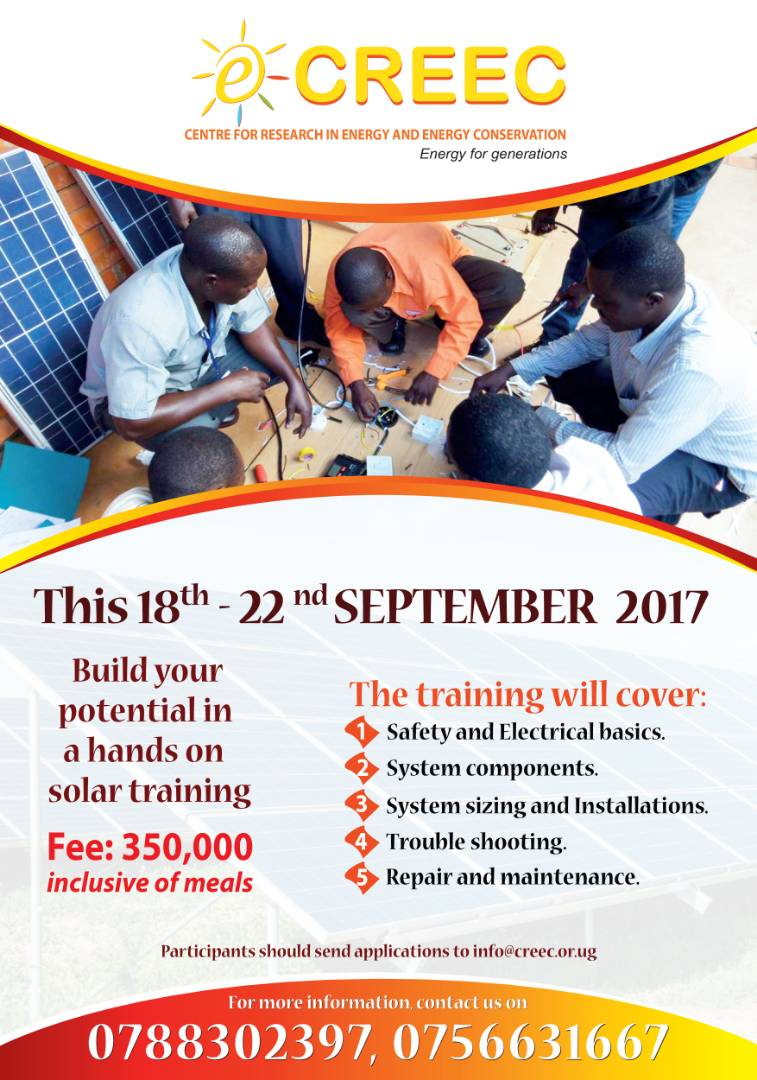 THIS SEPTEMBER 18TH – 22ND DO NOT MISS AN ALL NEW SOLAR TECHNICIAN TRAINING