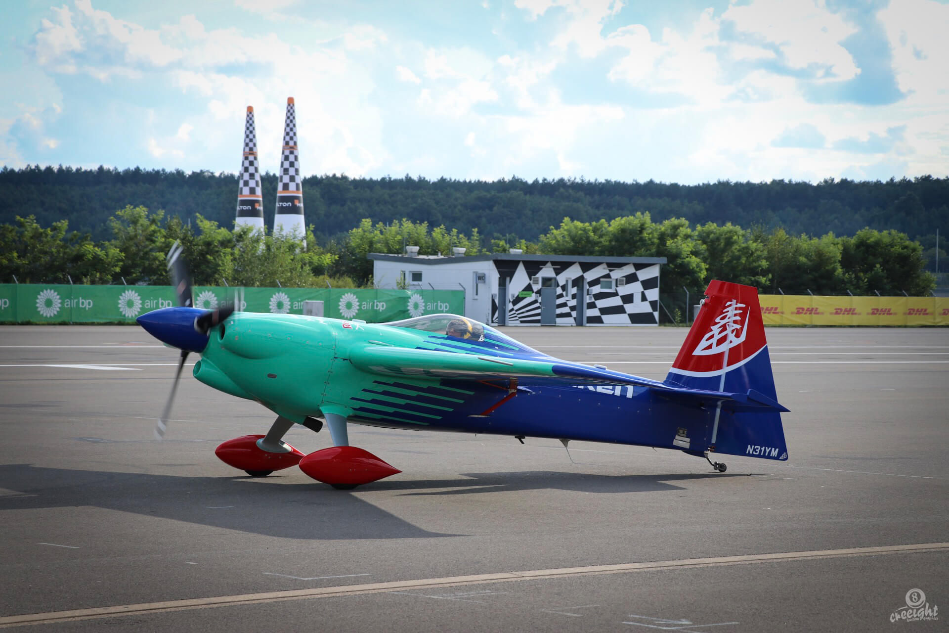 Yoshihide Muroya, Red Bul Air Race 2017, Lausitzring
