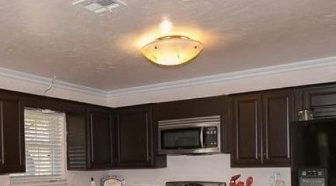 How I Scored A Kitchen Pendant For Under Creek Grown - Kitchen dome light