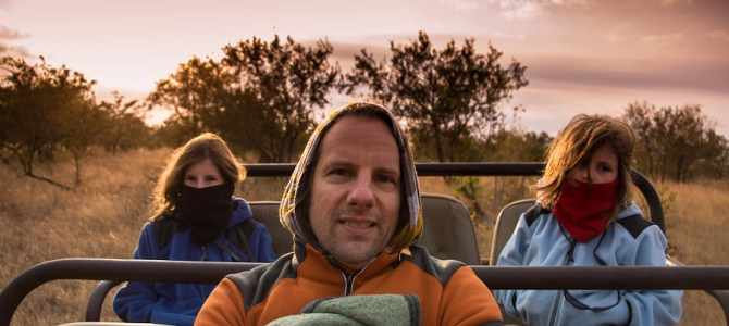 Africa Day 1-2:  Winter Safari in South Africa is Cold and Silent