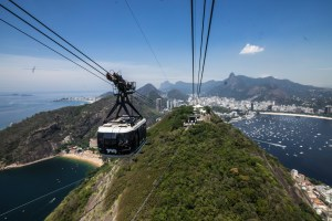 Cable Car up to Pao do Acucar