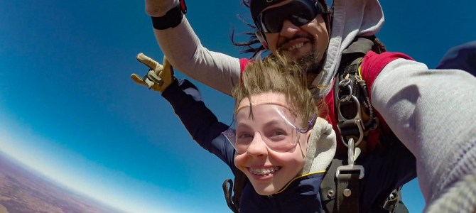 Australia Day 14: Mutiny on the S.S. Creekmore and Lily finally skydives