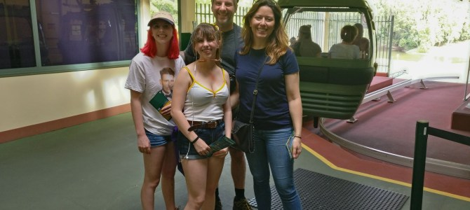 Australia Day 6-7 – Our luck turns at bit: skyrail and skydiving aren't what we expect.