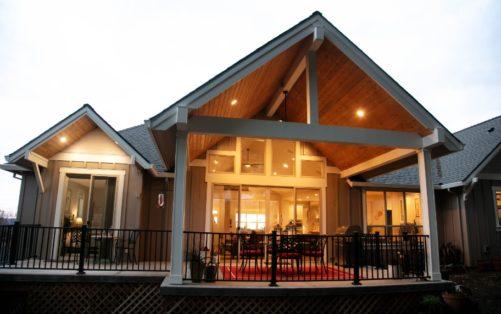 Slate Design new custom home by Creekside Homes Oregon