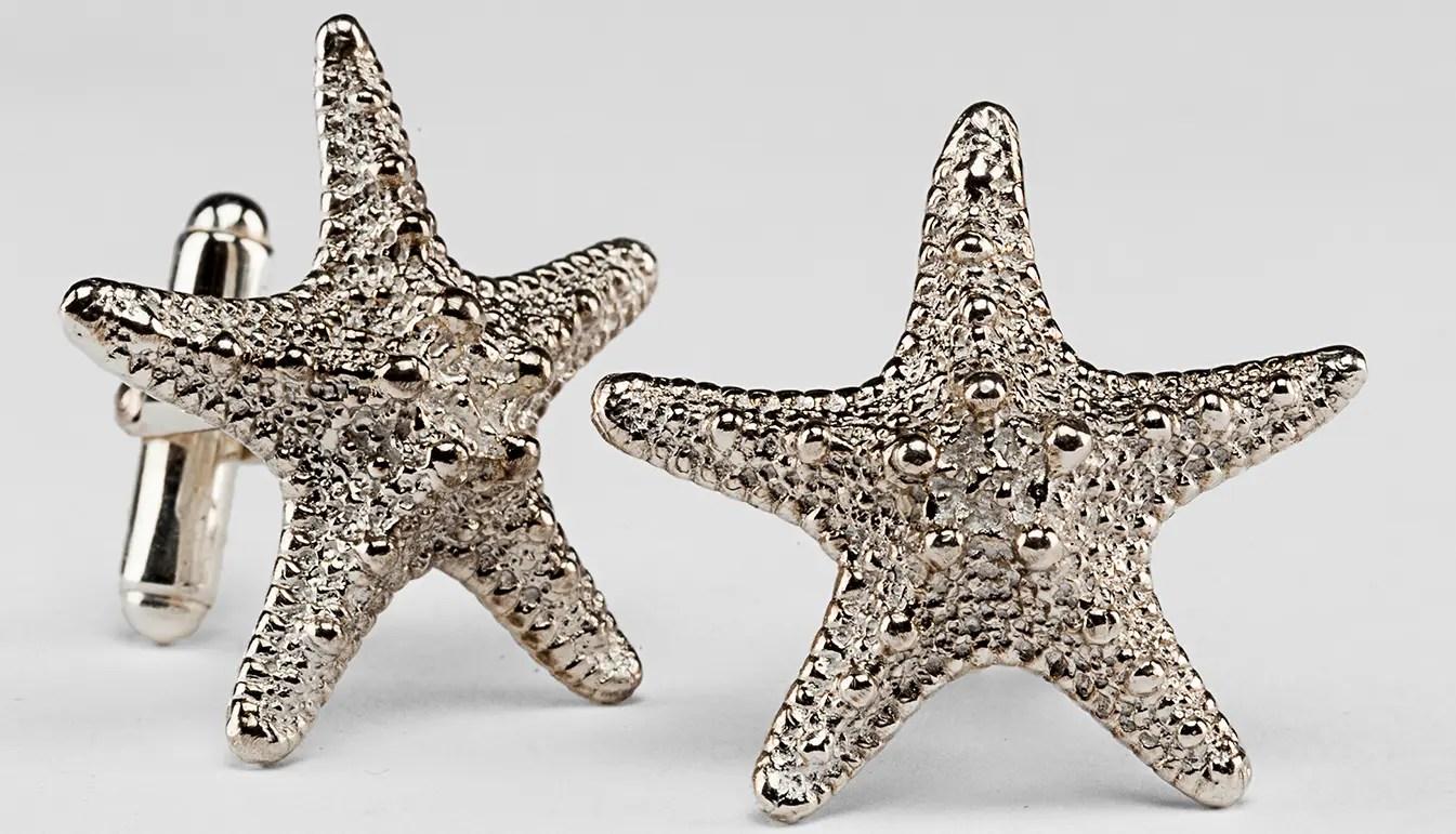 Starfish Cufflinks