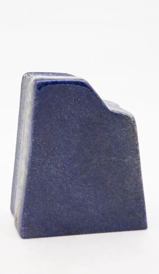 Piece of lapis lazuli with stunning grey stripes