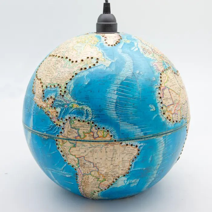 Hanging Globe Light 12 Creel And Gow
