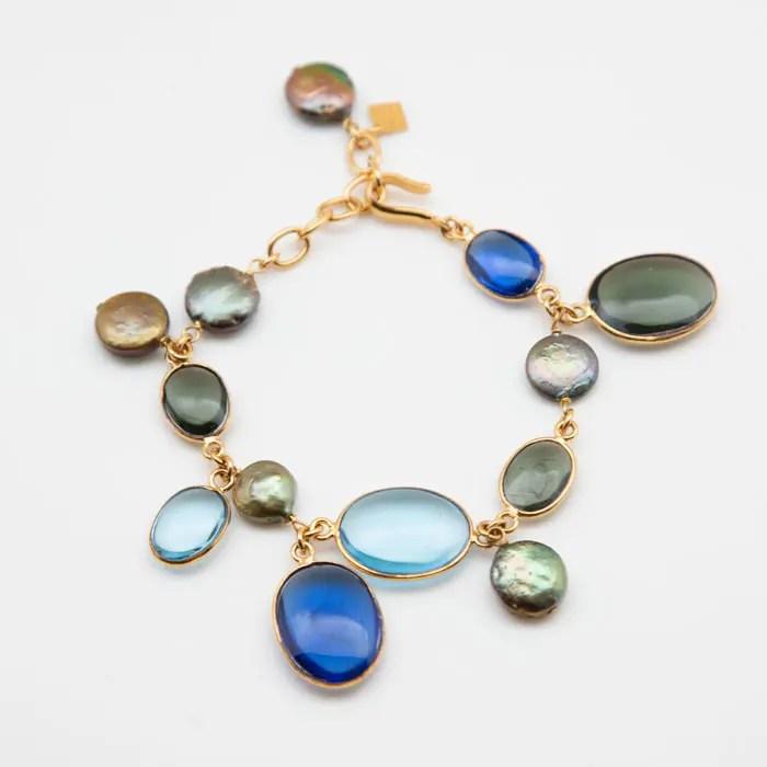 blue-gold-pearl-bracelet