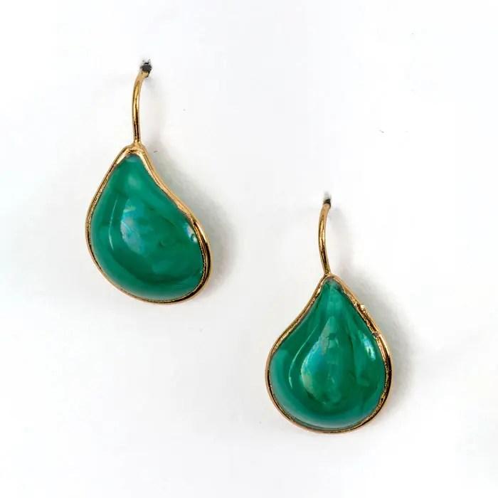 green-and-gold-teardrop-shape-earring