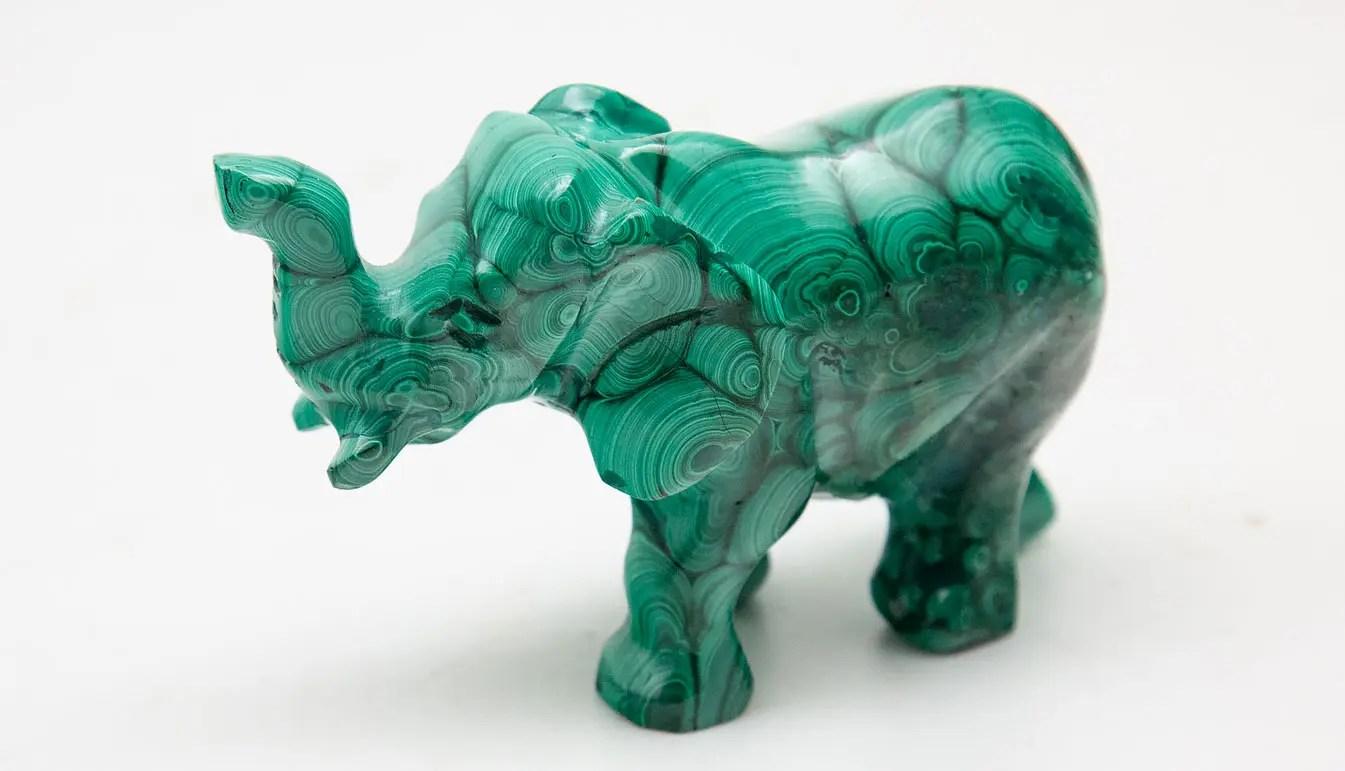 malachite-elephant