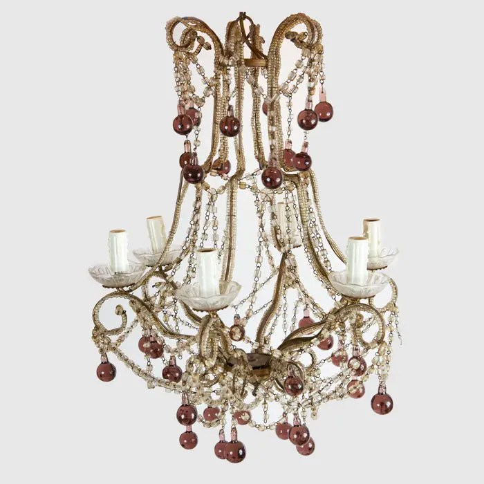 purple-italian-birdcage-chandelier