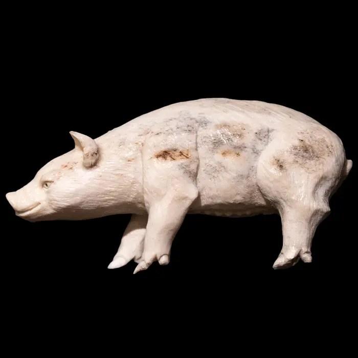 Moose-antler-pig
