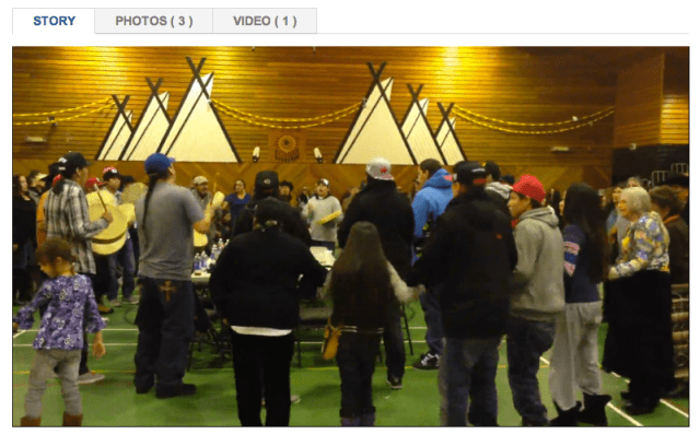 Round Dance in Maskwacis
