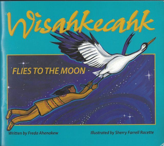 Wisahkêcahk Flies to the Moon Image