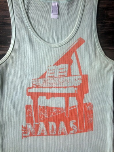 T-shirt design for The Nadas.