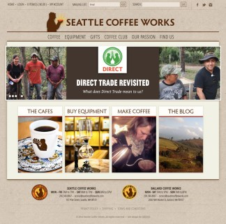 Seattle Coffee Works Site