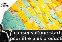 conseil startup productif creer gagner