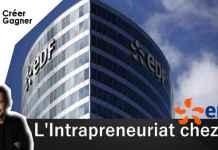 intrapreneuriat EDF créer gagner