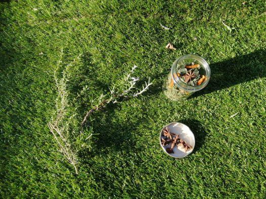 préparer les cadeau pour les fêtes : Cadeau DIY tisane maison thym romarin badiane