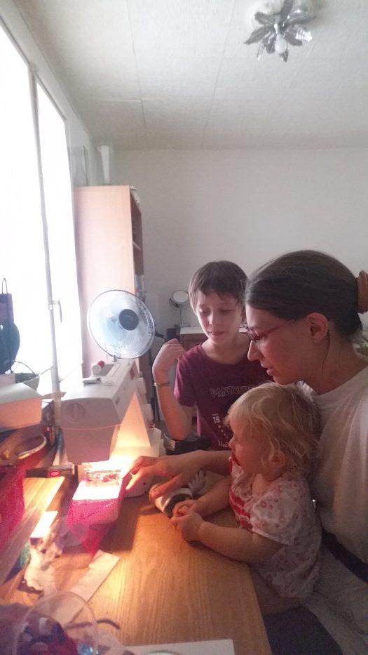 Couture avec les enfants