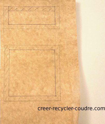 dessiner les marges de couture