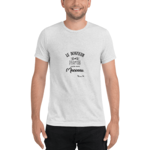 tee shirt blanc personnalisable chine homme