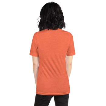 t shirt personnalisable femme orange2