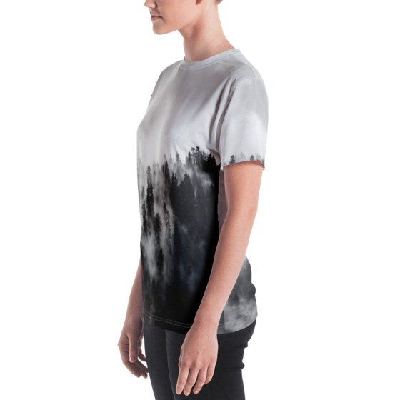 t shirt personnalisé full print brume femme 2