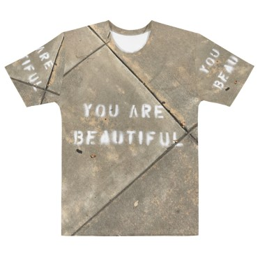 t shirt full print personnalisable you are beautiful
