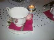 le thé à la rose