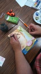 initiation à l'aquarelle nathalie