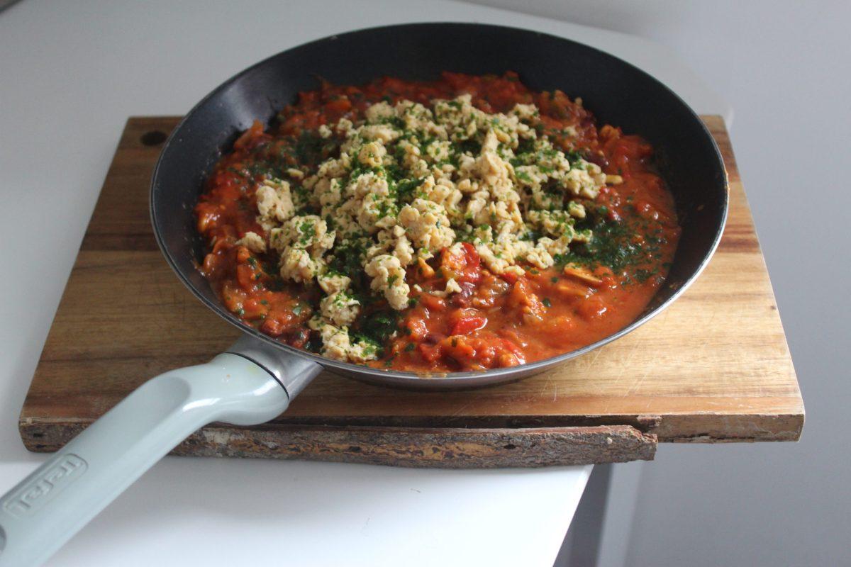 Tempeh et mijoté de légumes
