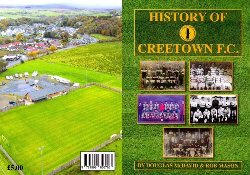 History Of Creetown F.C. Book