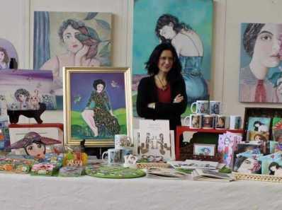 Zini Angela, le sue opere d'arte e le sue creazioni
