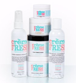 cremeFRESH Skin Care Line