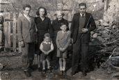 Abuela Pascuala, padres de Cheles y hnos de Cheles