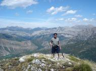 Aguasalio pico, cima 12, Vicente fue el primero en llegar arriba