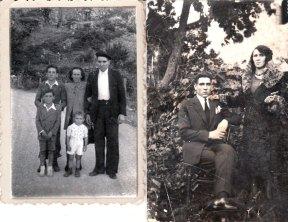 Petronila Ezequiel 3 hijos (Cheles, César y Luis)