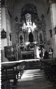 Con púlpito hoy desaparecido. D. Pajín