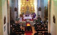 Misa funeral del Ilustrísimo Señor Marqués David Álvarez Díez. (Crémenes, León)
