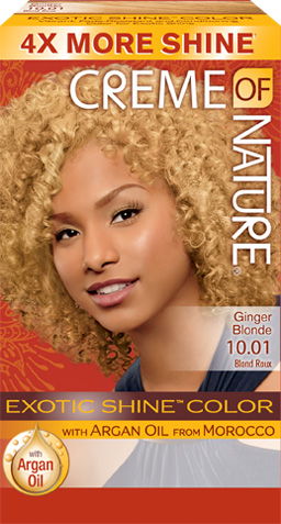 1001 Ginger Blonde Exotic Shine Hair Color Creme Of Nature