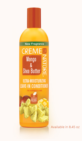 Image result for creme of nature mango and shea butter leave in conditioner