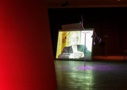 FRAC Pays de La Loire, exposition Gérard BYRNE, juillet 2014.
