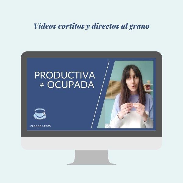curso diosa productiva videos