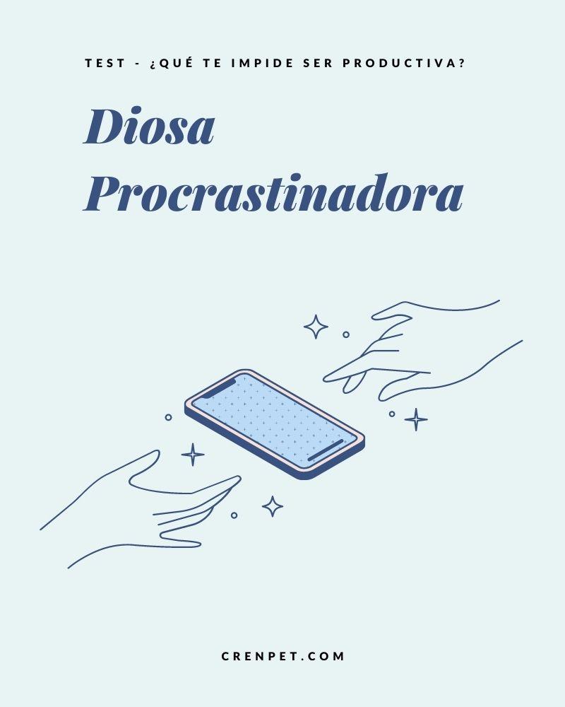De diosa procrastinadora a diosa productiva